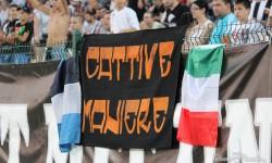 СНИМКИ: Фенове на Наполи подкрепяха Локомотив вчера