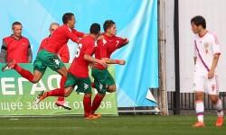 Васев и Георгиев титуляри за младежите при зрелищно 3:3 срещу Русия