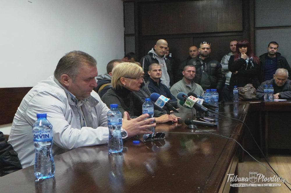 Photo of Пресконференция на Сдружението на футболните привърженици против полицейския произвол
