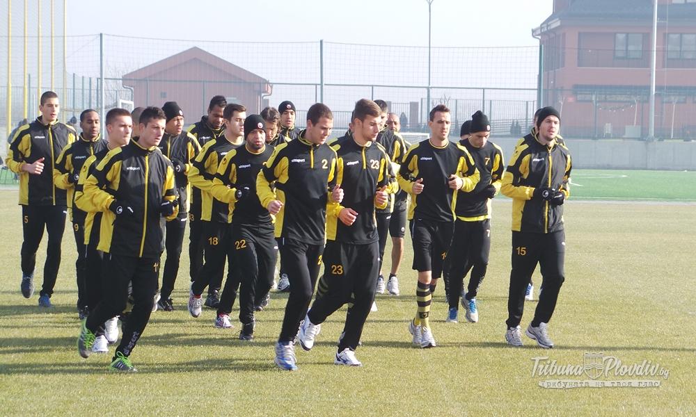 Photo of Първа тренировка на Ботев за 2014г.