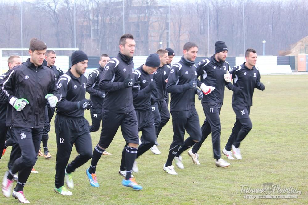 Photo of Първа тренировка на Локомотив за 2014г.