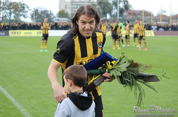 Футболист номер 1 на Пловдив за 2014г. в анкетата на TribunaPlovdiv.bg e Иван Цветков (Ботев)