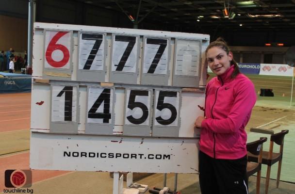 Невероятна Габи Петрова се класира за финала на тройния скок още от първия си опит