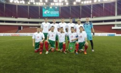 Георги Купенов и Рангел Игнатов започнаха като титуляри при равенство на България U18