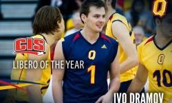 Избраха пловдивския волейболист Иво Драмов за либеро на годината