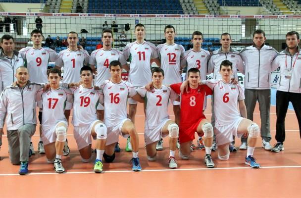 Юношите с първа победа за Евроволей 2015 U19