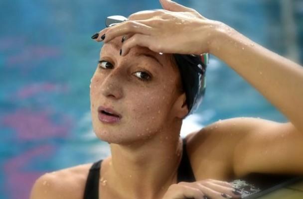 Нина Рангелова мисли за отказване от плуването