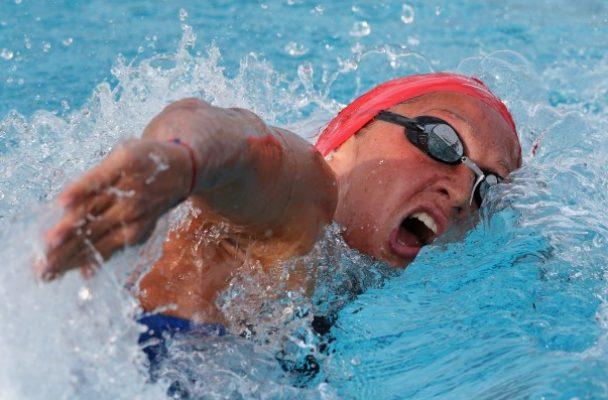Нина Рангелова 24-та на 100 метра съчетано плуване