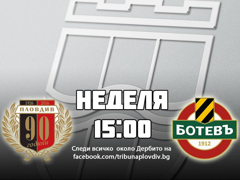 Photo of АНКЕТА: Кой ще победи в дербито на Пловдив?