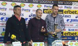 Локомотив обра наградите за ноември