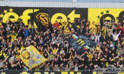 """ВИДЕО: Силна подкрепа в """"жълто-черно"""" даде начало на Ботев – Верея"""
