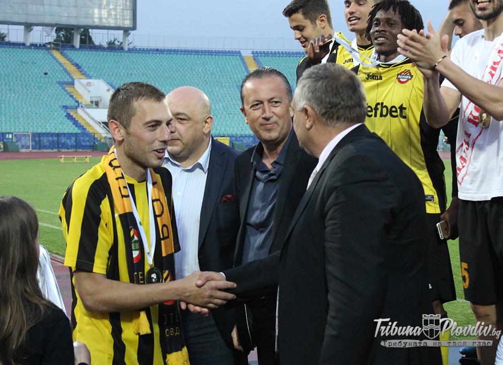 Photo of Официално: Ботев се раздели със своя капитан и Иван Бандаловски