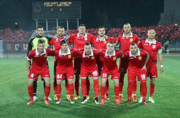 """Резултат с изображение за """"албанския футболен отбор Партизани."""""""""""