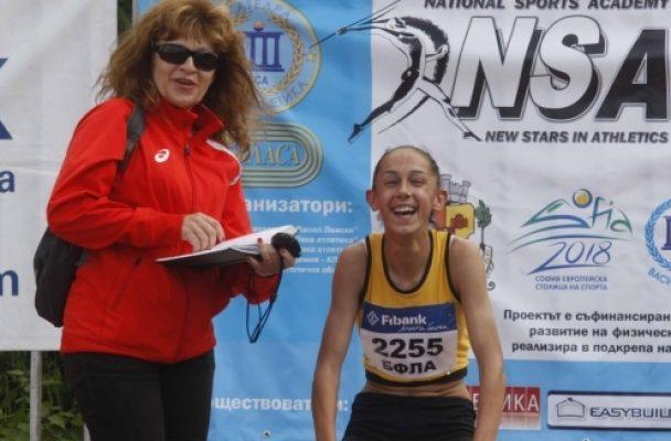 """Лиляна Георгиева е """"Изгряваща звезда"""" на Балканите"""