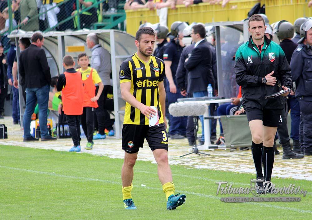 Photo of Ботев Пд се раздели с играч и му пожела успех