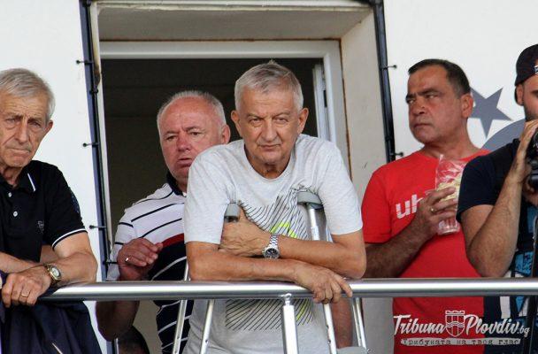 Христо Крушарски с обръщение към локомотивската общественост – вижте какво заяви