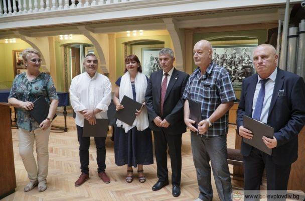 ГЛЕДАЙ: Ботев (Пд) се обедини с културните институции на Пловдив