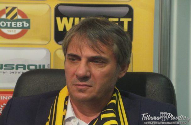 Зафиров: Скоро трябва да започне работата по стадиона