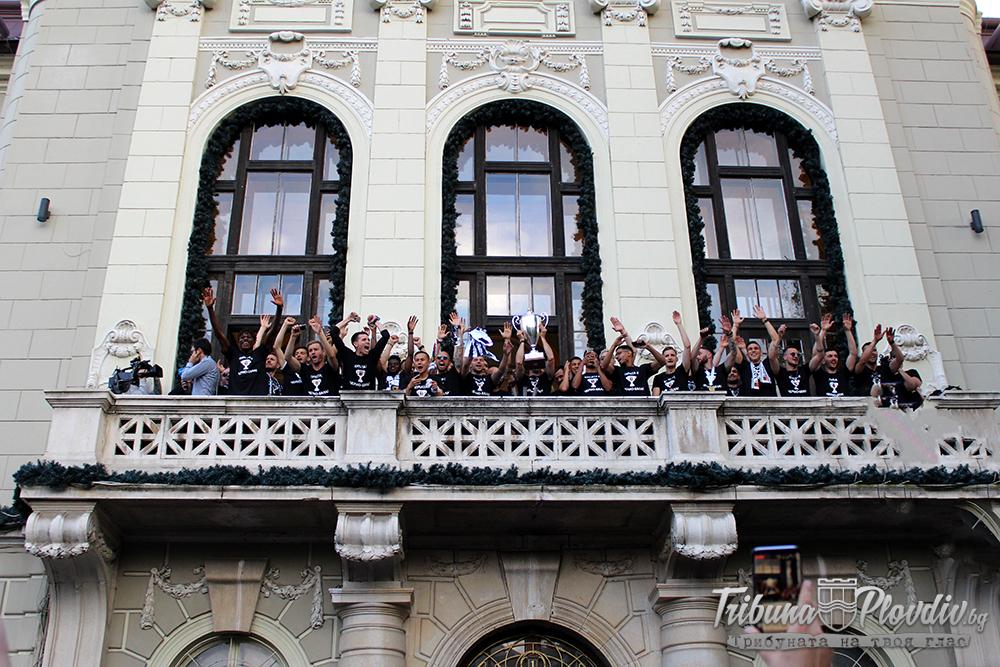 Photo of ВИДЕО И СНИМКИ: Походът на Купата от Лаута до центъра на Пловдив