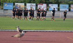 Групата на Локомотив Пд за мача с Черно море
