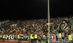 ВИДЕО И СНИМКИ: Феновете на Локомотив с шествие преди мача в Търнава