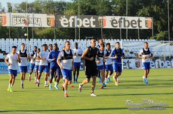 """ГЛЕДАЙ: Физическа мощ и вдъхновение лъха от играчите на Страсбург, французите тренираха на """"Лаута"""""""