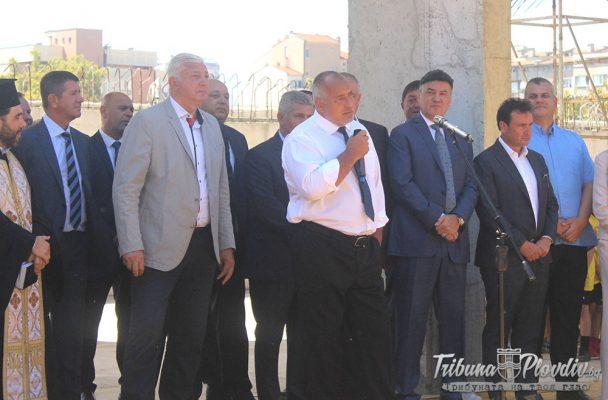 ГЛЕДАЙ: Бойко Борисов: Действайте и накрая ще помогнем, в цял свят частниците си правят стадионите