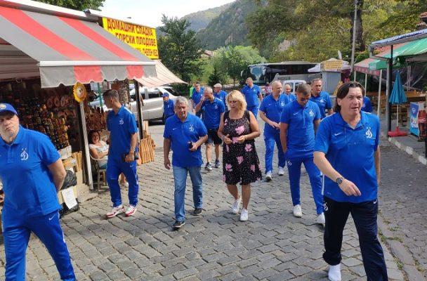 Ветераните на Динамо (Москва) разгледаха Пловдив и Бачково, останаха очаровани