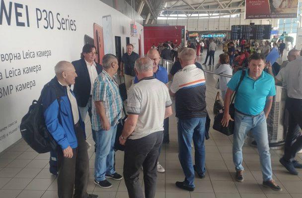 Ветераните на Динамо (Москва) пристигнаха в България за двубоя с Локомотив