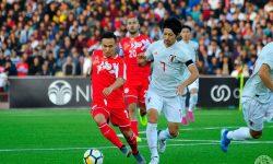 Парвиз Умарбаев изигра цял мач за Таджикистан срещу Япония