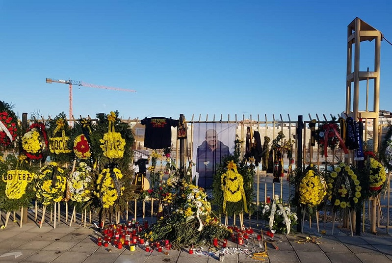 Photo of Община Солун вдига паметник на убития фен на Ботев