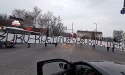 СНИМКИ И ВИДЕО: Привържениците на Локомотив блокираха ключов булевард в Пловдив