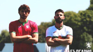 Photo of СНИМКИ: Кристиан Димитров и Димитър Илиев представиха новите екипи на националния отбор