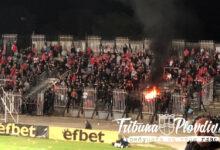 Photo of ГЛЕДАЙ: Ултрасите на ЦСКА-София си запалиха огън в сектора за гости